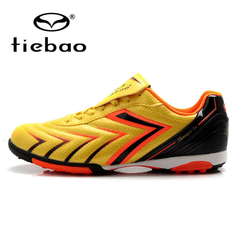 ФОТО TIEBAO Professional Outdoor Sport Soccer Boots Children Kids Training Shoe Sneakers TF Turf Sole Football Shoes scarpe da calcio