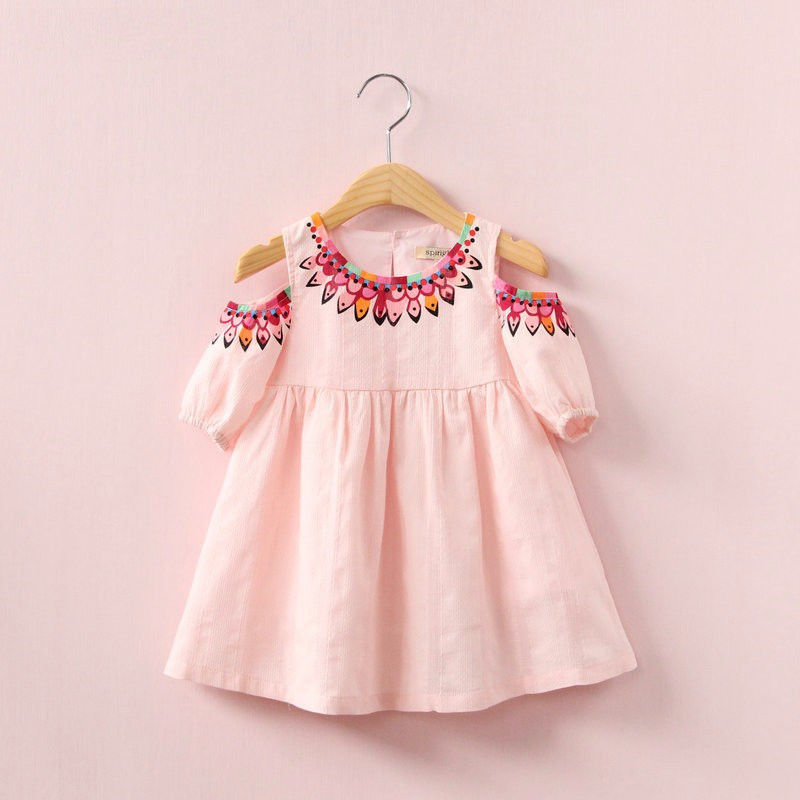 New Fashion Child Kids Infant Baby Girls Summer Strapless Shoulder Off Sundress Dress Party Bowknot Dress baby girls infant wedding party bowknot sleeveless ruffled vest dress sundress