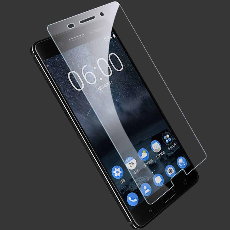 خفف من الزجاج ل نوكيا Lumia 630 635 535 640 640XL 730 735 625 520 520T 525 550 650 830 واقي للشاشة تشديد زجاج عليه طبقة غشاء رقيقة