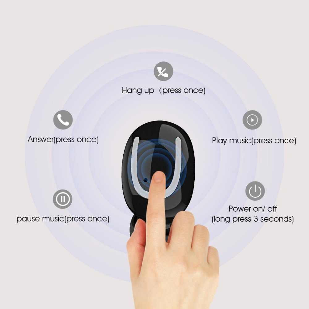 Oryginalny sylaba Q26 pojedyncze opakowanie słuchawki 500 mah ładowarka przypadku pojemność baterii Q26 zestaw słuchawkowy 50 mAh bardzo zatyczki do uszu