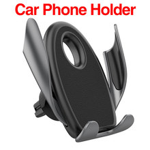 Car Holder in Gravity Air Vent Clip Mount No Magnetic Phone For iPhone SmartPhone Stand Mobile Support