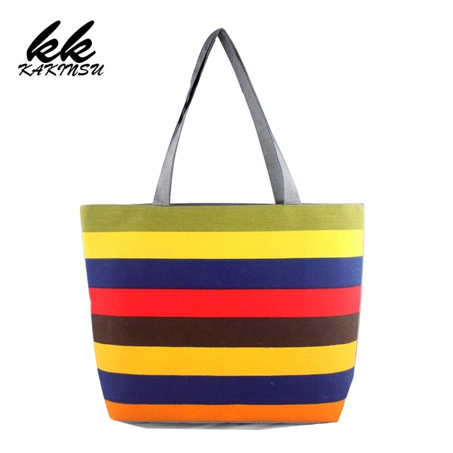 2017 Women Canvas Ping Bags Per Tote Holiday Beach Bag Zipper Eco Shoulder Versatile Sack Summer