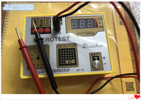Ferramenta de Reparo 4 em 1 Atualizado Relógio Testador Pulser Demagentizer Bobina Circuito ic Bateria Teste