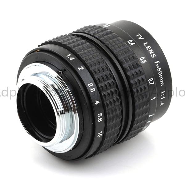 50mm f1.4 C Mount Lens + C-Micro M4 / 3 / NEX / N1 / Pentax Q / Fuji - Kamera och foto - Foto 4