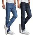 Famous Brand Men Jeans Cotton Denim Jeans Casual Straight Washed Thin Light Summer Jeans Ripped Jeans Homme