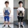 summer style children boys suits batman kids T-shirts and shorts  2 pcs children sports suit boys clothes set  YAZ077