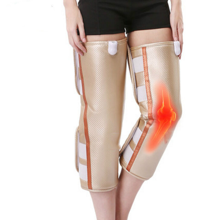 Electric heating knee to keep warm in the old product the old joint treasure knee leg massager heat moxibustion heat meter knee warm and wool cashmere wool and thickening long leg warmers in the fall and winter of an old product knee joints