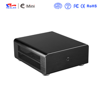Brand Mini Itx Pc Case For Personalized Computer PC Aluminum Transparent