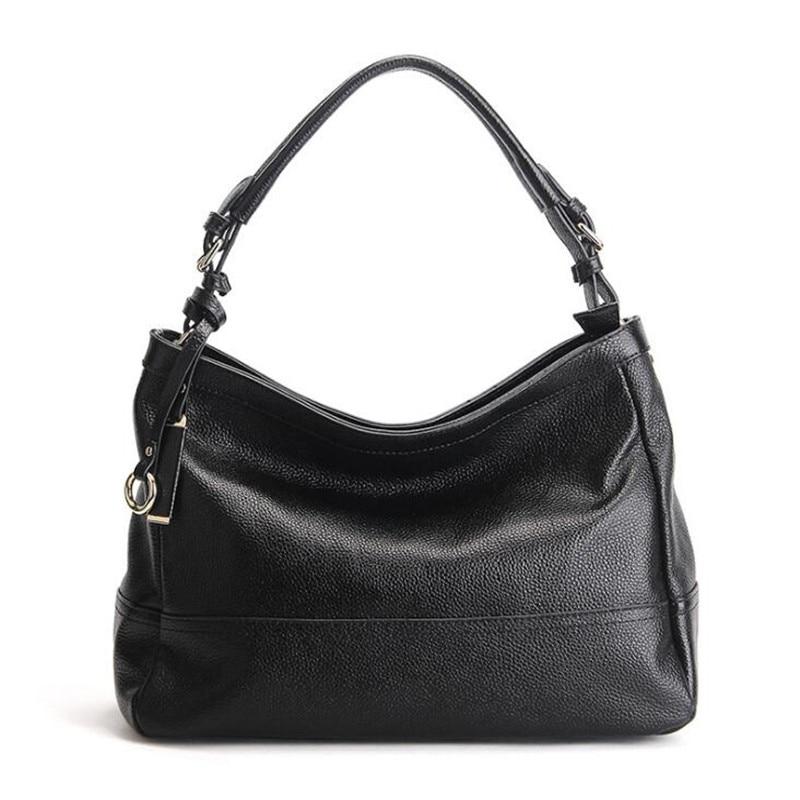 European And American Style Women Handbag Fashion Messenger Bag Ladies Handbags Designer Cowhide Genuine Leath Shoulder Bags