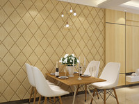 3D Leather Soft Bag Wall Stickers Setting Wall Wallpaper Stick Self Adhesive Wallpaper Of Environmental Protection
