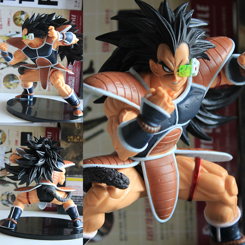 Action & Toy Figures Selfless Newest Anime Dragon Ball Z Resurrection F Super Saiyan Raditz No.21 Pvc Action Figure Collectible Model Toy 14cm Juguetes Fragrant Aroma