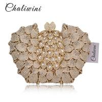 Chaliwin Diamond сумка с камнями Роскошные Для женщин вечерние сумки Rewark расшитая кристаллами сумочка клатч свадебные с цепочкой женские вечерние
