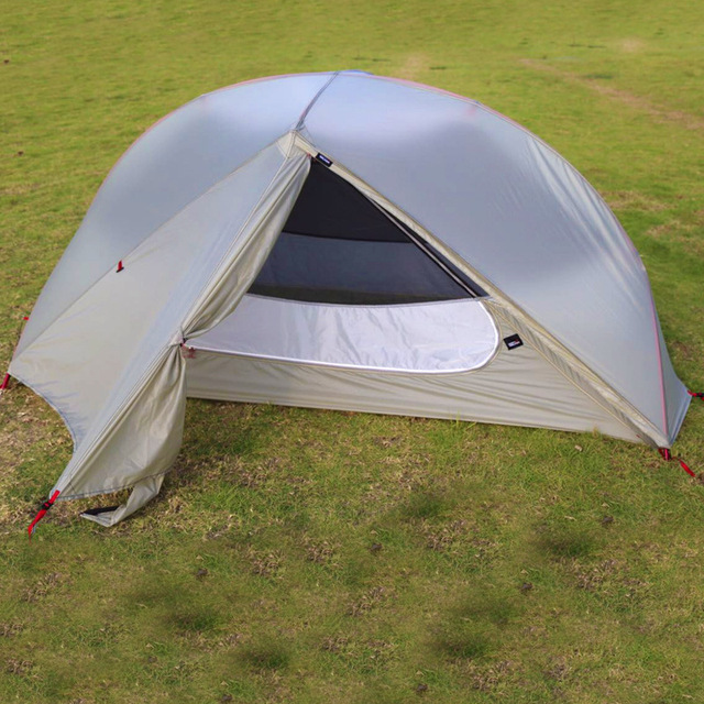 Outdoor 3-season Ultralight Backpacking Tent Compact Double LayerTent Waterproof Tent 3 Seaon White/ & Outdoor 3 season Ultralight Backpacking Tent Compact Double ...
