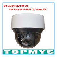 English Version 20x Optical Zoom IP Camera DS 2DE4A220IW DE 2MP Network IR Mini PTZ Camera