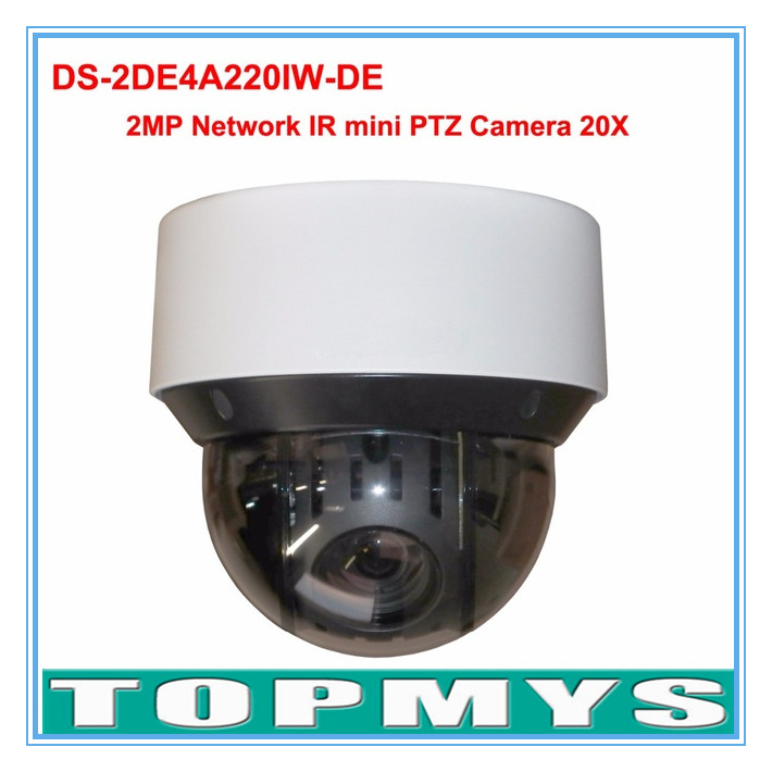 English Version 20x optical zoom IP Camera DS-2DE4A220IW-DE 2MP network IR mini PTZ camera outdoor P2P ip cctv camera 50m IR наушники stax sr 407 407 006ts