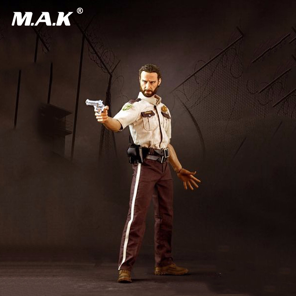 1/6 Scale 30CM Walking Dead Zombie Police Collectible Action Figure Toys Gifts стоимость