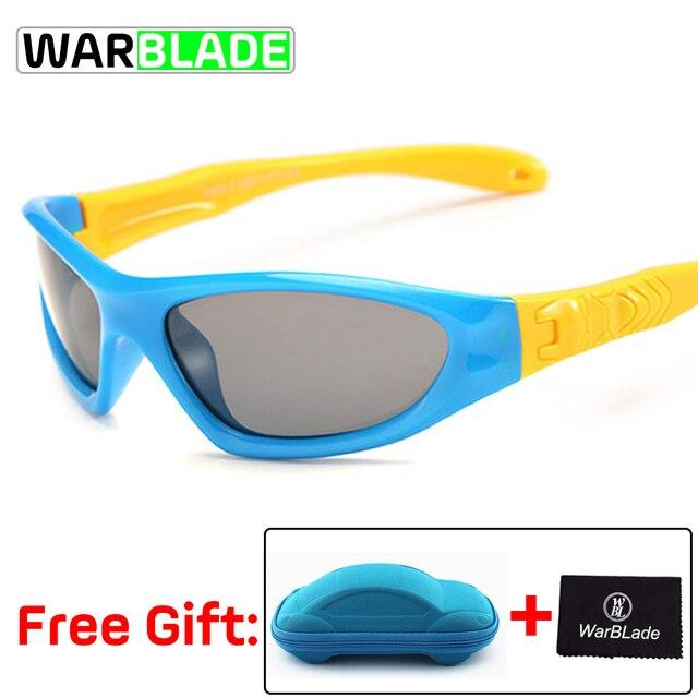 4ee6f6f212e4 Cycling Eyewear TAC Flexible Kids Sunglasses Polarized Boy Girl Child Sport Sun  Glasses 100%UV Goggles Gafas De Sol With Case
