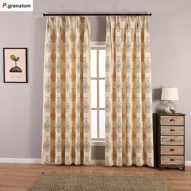 enkele panelen verduisterende gordijnen slaapkamer thuis raamdecoratie jacquard stof zwart europa luxe gordijn woonkamer