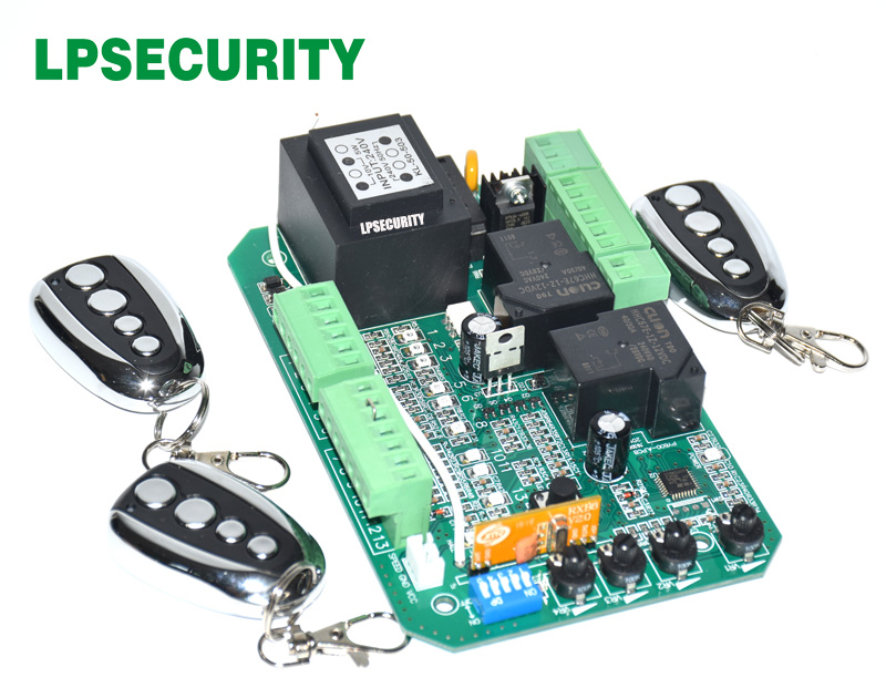 Universal use sliding gate opener motor control unit PCB controller circuit board electronic card PY600ACL SL1500AC