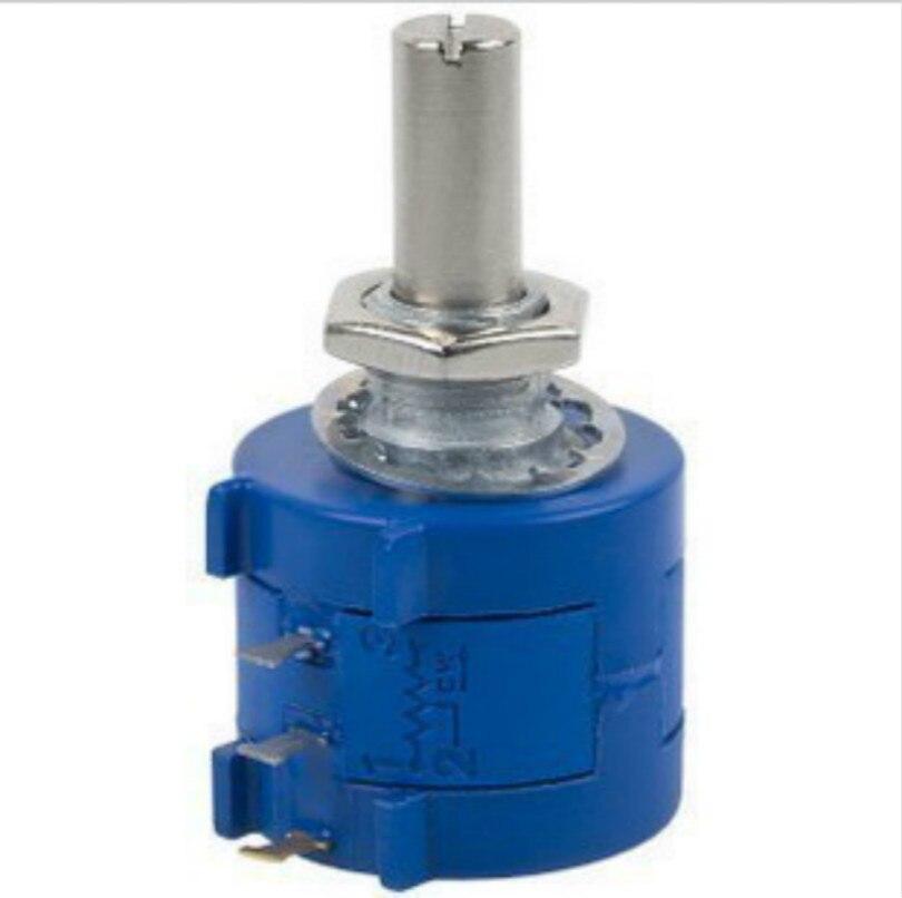 2pcs/lot Free Shipping 3590S-2-103L 3590S 10K ohm Precision Multiturn Potentiometer 10 Ring Adjustable Resistor  цены