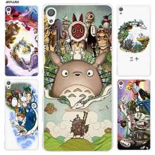 Case for Sony Xperia XA XA1 X XZ Z5 Z1 Z2 Z3 M4 Aqua M5 E4 E5 C4 C5 Compact Clear Hard Cover Studio Ghibli Spirited Away Totoro(China)