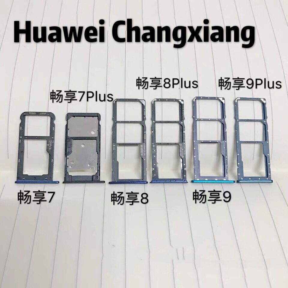 Changxiang <font><b>7</b></font> 7P 8 8P 9 9P Micro <font><b>Dual</b></font> <font><b>SIM</b></font> TF SD Card Slot Tray <font><b>Adapter</b></font> Holder Reader Connector Insert Eject PIN Motherboard FPC image