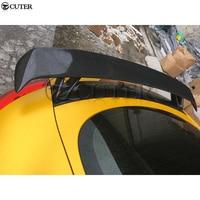 TT TTS TTRS Carbon fiber Rear Wings Trunk Lip Spoiler For Audi TT 8J TTS TTRS 08 14