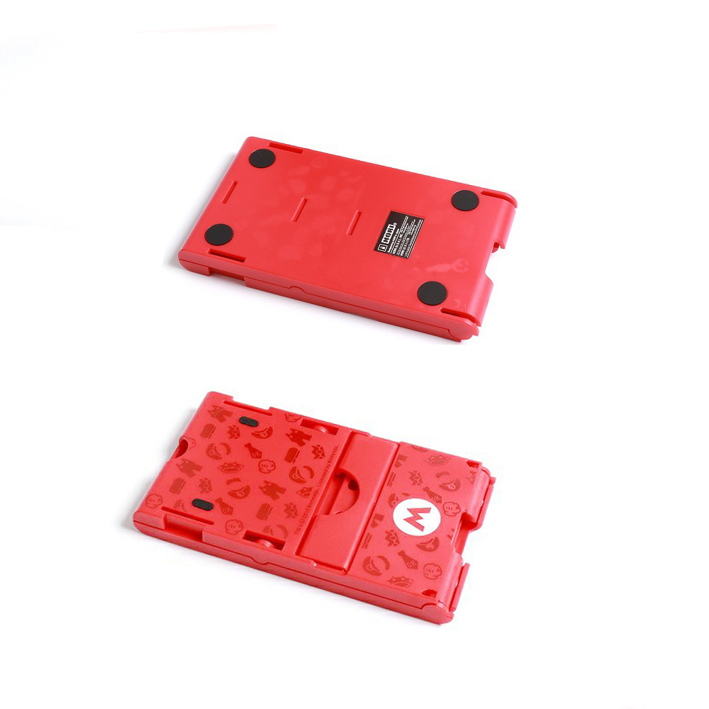 Foldable ABS Compact Bracket Play Hard Holder Adjustable Stand for Nintend Switch For NS Console Controller 1