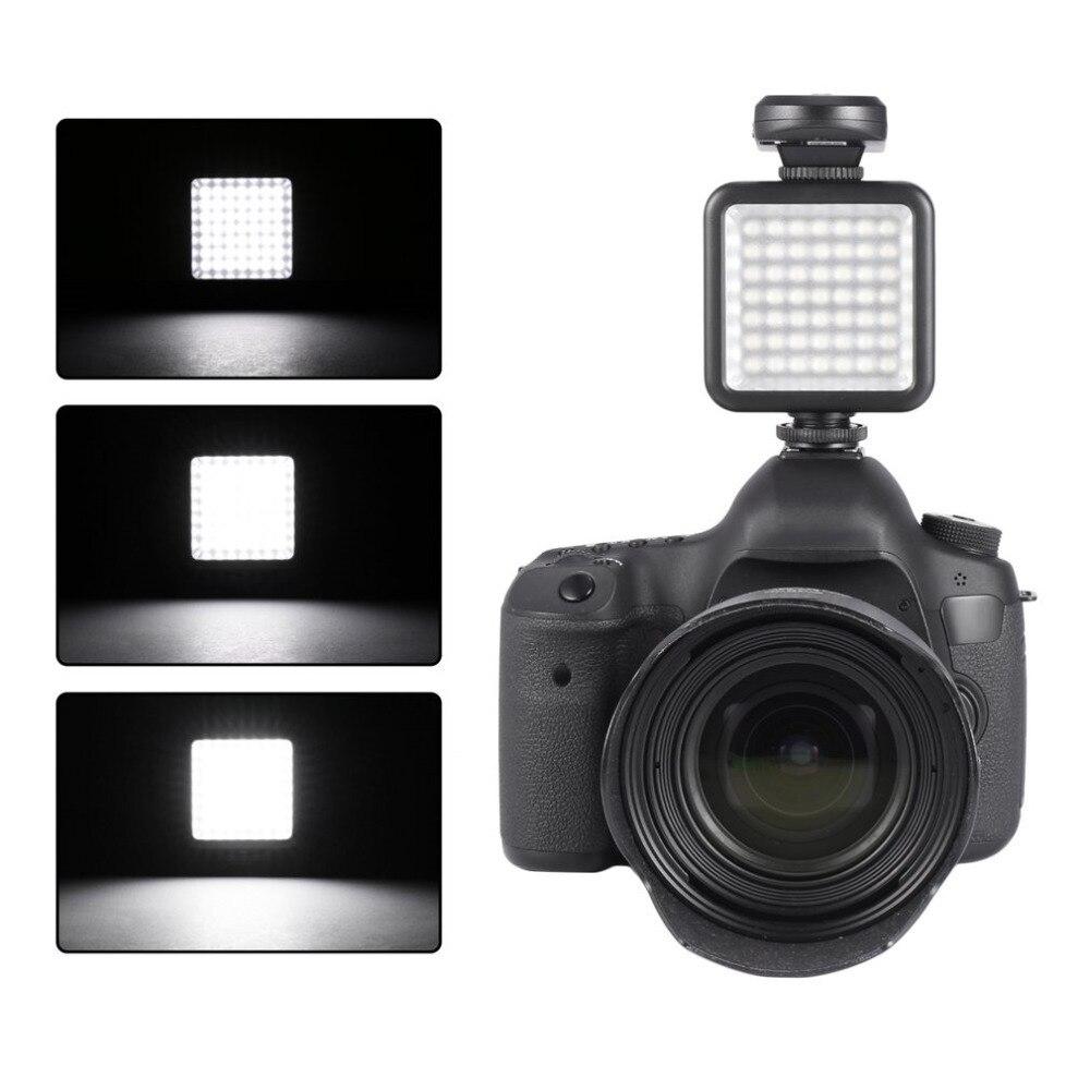 Высокое качество Длинная жизнь 5,5 W 800lm 6000K Мини Портативная 49 Светодиодная лампа для Освещения Видео Фото освещение для камеры