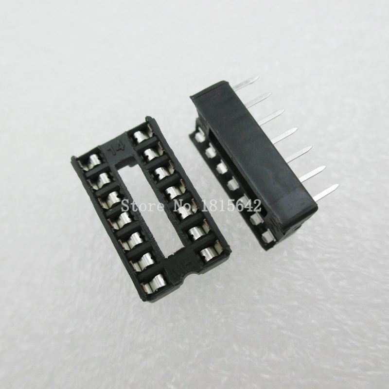 20 TEILE/LOS <font><b>14</b></font> <font><b>Pin</b></font> DIP SIP Ic-sockel-adapter Solder Typ Narrow ic sockel image