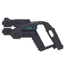 VR Arma Pequeña Pistola Juego de Disparos Pistola Para HTC Vive Vasos auriculares Auriculares VR experiencia tienda mango caja Del Controlador