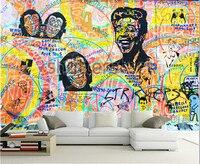 Custom 3D large mural,Graffiti wall paper restoring ancient ways papel de parede ,living room sofa TV wall bedroom wall paper