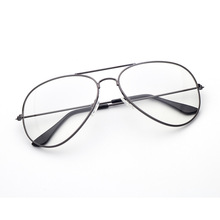 3026 metal glass frame box frames retro mirror the flat lens manufacturer wholesale