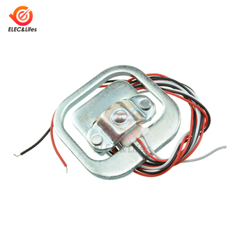 50KG Human Scale Body Load Cell Resistance Strain Weight Sensor Module Weighting Pressure Sensors Measurement Tools image