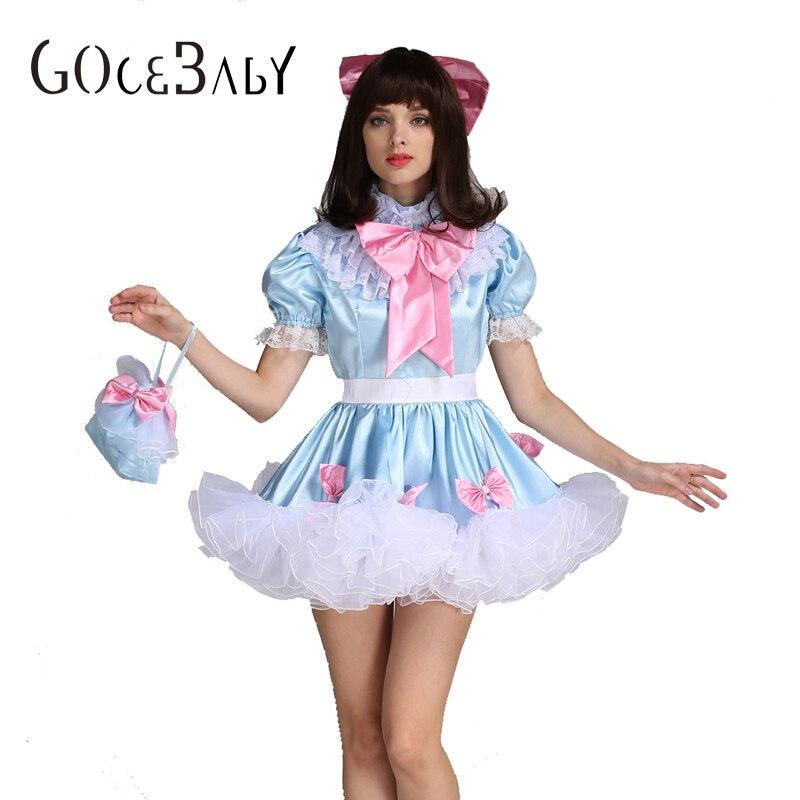 Sissy Girl Lockable Maid Bow Dress