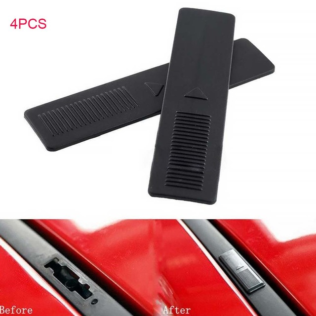 4Pcs Seal Cover Autos Car Roof Buckle Cover Lightweight Plastic Portable Easy Installation Compact Size For  M6 5