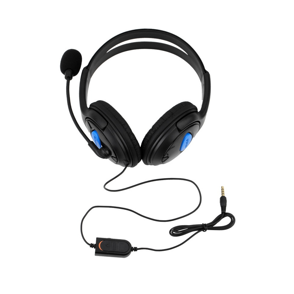Wired Gaming Headsets Headphones Earphone with Microphone for PS4 game accessories