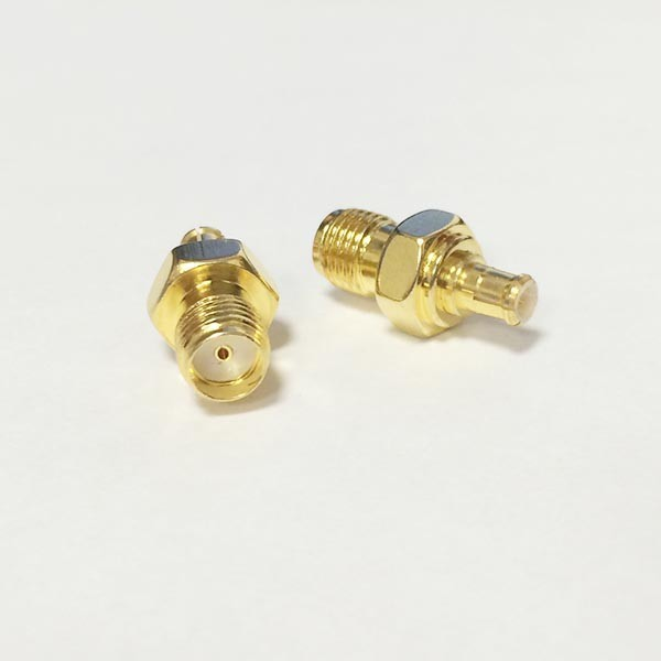 5 Pack FME Female Jack to SMA Female Jack RF Coaxial Coax Adapter Connector