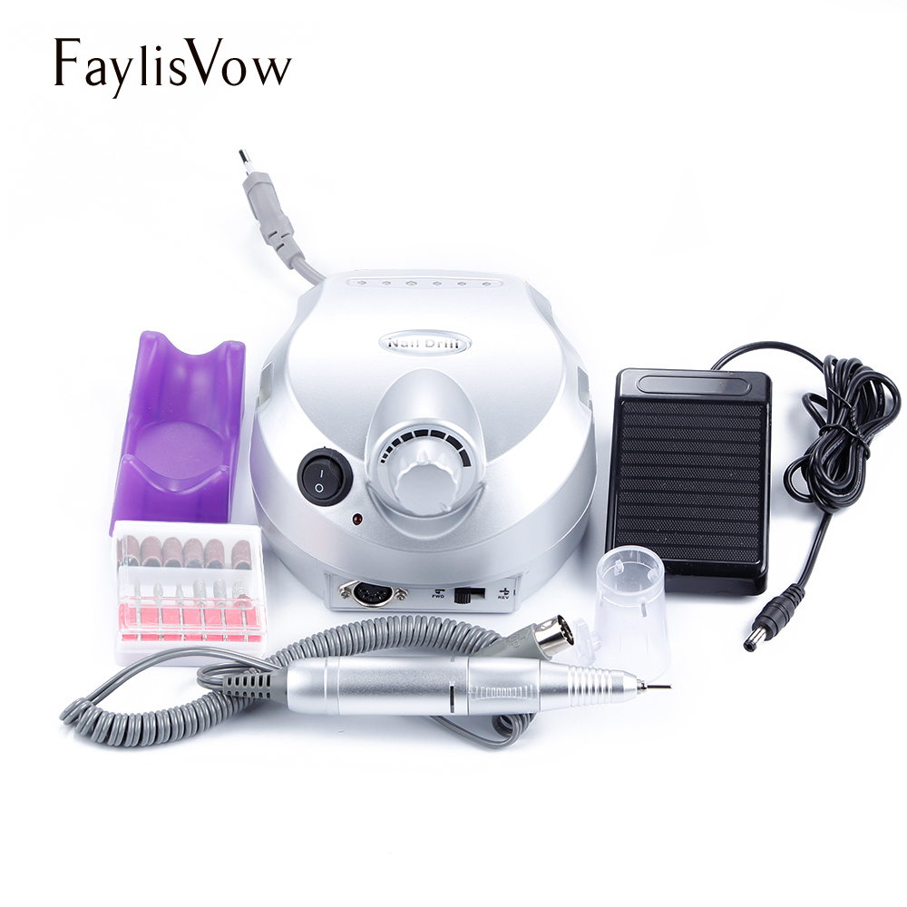 30000RPM Electric Nail Drill Machine Apparatus Machine for Manicure Drills Milling Cutters Pedicure Kit Nail Drill Bit Nail File apparatus for manicure nail art drill machine for manicure kit drill file bit sanding accessory 9 heads pedicure machine