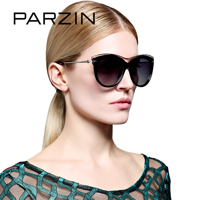144291e3e Gases de Borboleta PARZIN Óculos Polarizados Grande Qualidade Superior Do  Sexo Feminino Retro Clássico Óculos Mulheres Designer De Condução Oculos  9827
