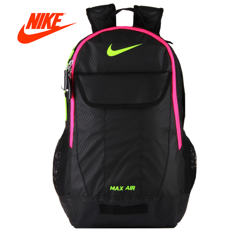 cb191387fdd4 Authentic NIKE Training Bags MAX AIR Unisex Backpacks Sports Bags