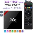 X96 X96W Android 7.1 TV Box Mini Box TV Amlogic S905W 2G 16G Bluetooth Support 2.4GHz WiFi HD 4K Media Player IPTV Set top Box