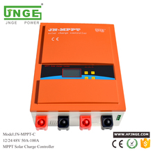 JNGE 80A Solar Controller MPPT Solar Charge Controller 12V 24V 48V MPPT Solar Panel Battery Regulator with Max. 150V PV input mppt solar charge controller 60a solar regulator 60a 12v 24v auto switch mppt solar panel battery regulator charge controller