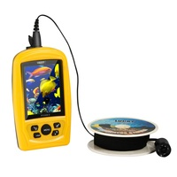 Ручной Проводной Рыболокаторы с подводным Камера 20 м Камера кабель 4 ИК/светодиодный свет Цвет изображения Системы для рыбалки