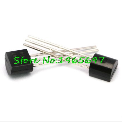 100pcs/lot BC547C BC547 TO-92 0.1A 45V In Stock