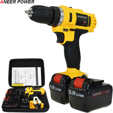 Mini 1.5Ah Battery Capacity Drill Power Tools 16.8v Electric Screwdriver Cordless Drill  Electric Drill Batteries Screwdriver 21v electric screwdriver power tools electric drill cordless drill batteries screwdriver mini 1 5ah battery capacity drill