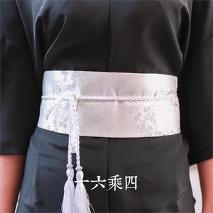 Image 4 - גבוהה באיכות סופר מועדף יפני קימונו hanfu פנג עתיק אתני רוח מותניים חגורת אבנטים