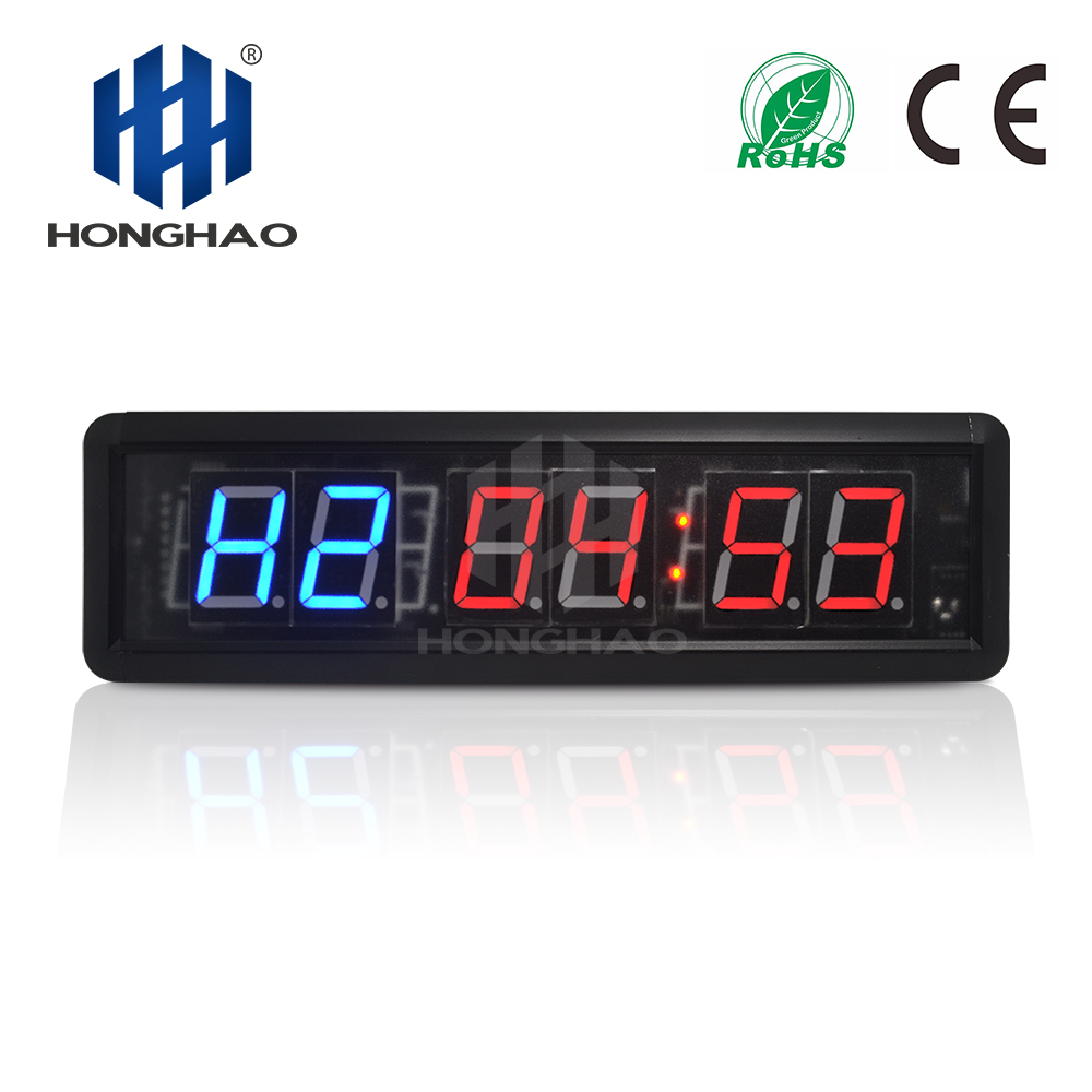 Honghao Led Countdown Interval Gym Timer For Crossfit For Home Gym