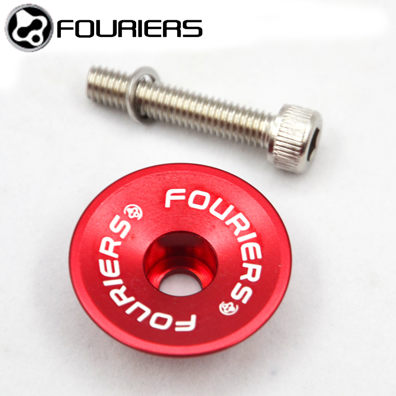 FOURIERS Bike Headset TC-DX002 MTB Mountain Bike Top Cap With Stainless Steel Screws External Headsets Bicycle Headset Parts