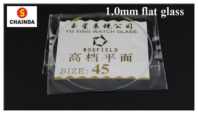 Tamanho de 1645mm Frete Grátis Espessura 1.0 Milímetros Flat Round Vidro Mineral Assista Cristal 118 Pcs